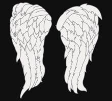 Daryl Dixon Angel Wings by FullBlownShirts