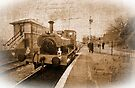 Journeys past, Cranmore station, Somerset, England, UK, by buttonpresser