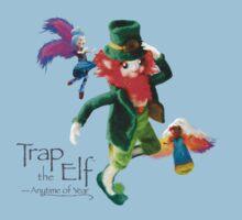 Trap the Elf™ (aka Leprechaun) One Piece - Short Sleeve