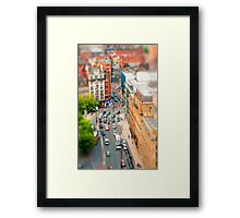 Manchester 'Tilt n Shift' Framed Print