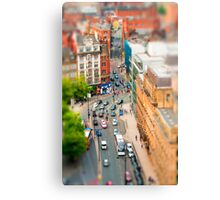 Manchester 'Tilt n Shift' Canvas Print