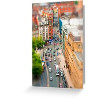 Manchester 'Tilt n Shift' Greeting Card
