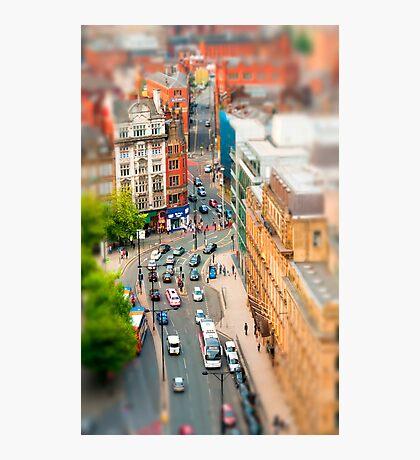 Manchester 'Tilt n Shift' Photographic Print
