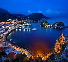 Parga nights by Hercules Milas