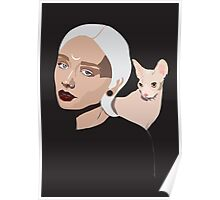 Grey Goddess Poster