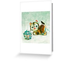 Kitty Mischief Greeting Card