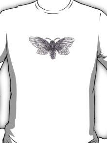 Steampunk Moth T-Shirt