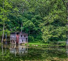 Little Falling Spring Mill by Jerry E Shelton