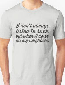 Listen To Rock T-Shirt