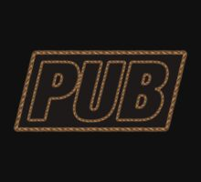Pub Rope Edge decoration Clothing & Stickers by goodmusic