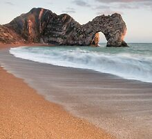 Durdle Door Breakers by Chris Frost Photography