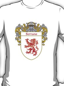 Serrano Coat of Arms/Family Crest T-Shirt
