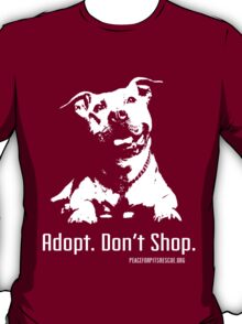 Adopt Dont Shop P4P apparel T-Shirt