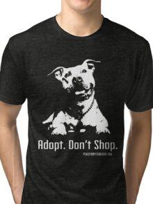 Adopt Dont Shop P4P apparel Tri-blend T-Shirt