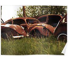 Automobile Graveyard No 3 Poster