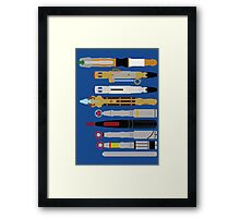 Tools of the Trade - Doctor Who Framed Print