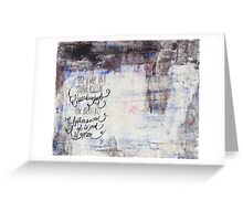 Lost for Words - November 2014 Greeting Card