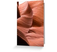 slot canyon Greeting Card
