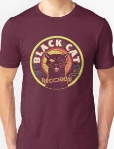 Black Cat LP Art Deco Unisex T-Shirt