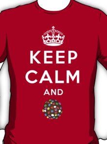 Keep Calm and Crush - Candy Crush Shirt T-Shirt