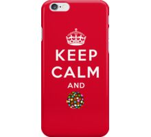Keep Calm and Crush - Candy Crush Shirt iPhone Case/Skin