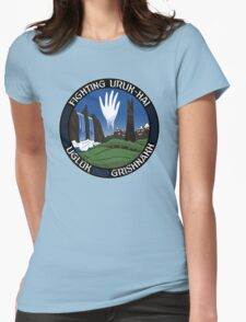 Mission to Isengard Womens Fitted T-Shirt