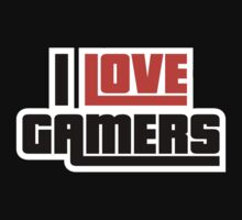 I Love Gamers by BrightDesign