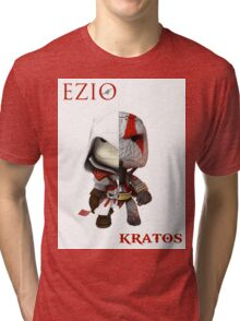 LBP - KRATOS vs EZIO AUDITORE Tri-blend T-Shirt