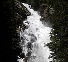 Hidden Falls in Yellowstone by RyGuy13
