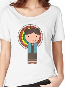 Kaylee Kokeshi Doll  Women's Relaxed Fit T-Shirt