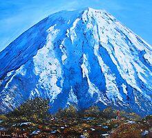 Mt Ngauruhoe by HelenBlair