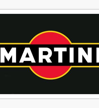 Martini  Sticker