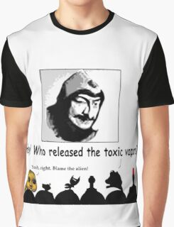 WHO ~ ?? Graphic T-Shirt