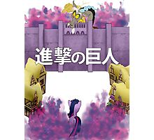 Attack on Ponyville Photographic Print