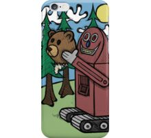 Teddy Bear And Bunny - I Did Good? iPhone Case/Skin