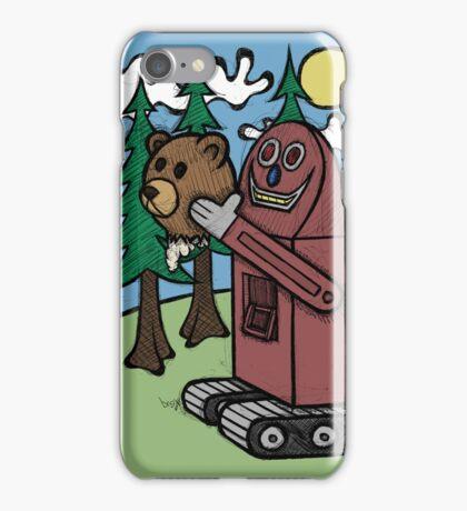 Teddy Bear And Bunny - I Did Good? iPhone Case/Skin