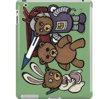 Teddy Bear And Bunny - Spies Among Us iPad Case/Skin