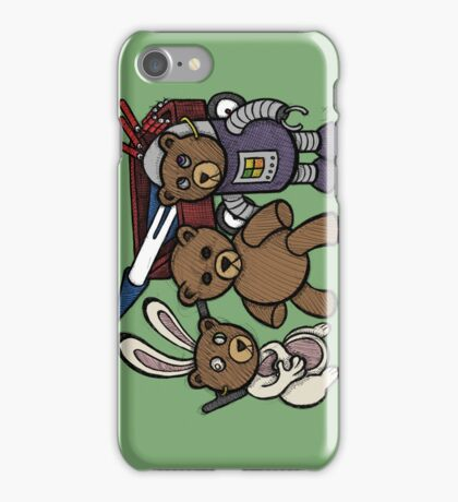Teddy Bear And Bunny - Spies Among Us iPhone Case/Skin
