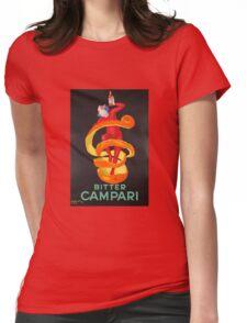 Campari Orange Womens Fitted T-Shirt