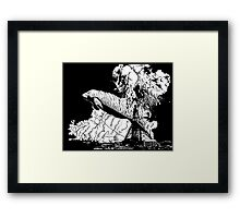 Oh the Huge Manatee Print Framed Print