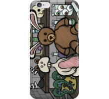 Teddy Bear and Bunny - Lab Experiments 2 iPhone Case/Skin