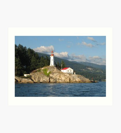 Point Atkinson Lighthouse Art Print
