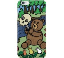 Teddy Bear And Bunny - Apple Of My Eye iPhone Case/Skin