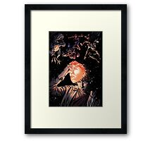 The Artist Behind The Mask Framed Print