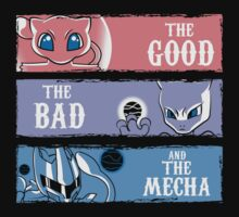 The Good,the Bad and the Mecha by piercek26