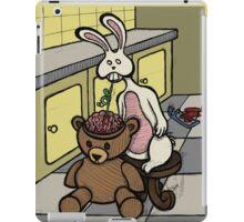 Teddy Bear And Bunny - Slushie iPad Case/Skin