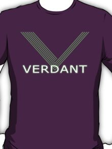Verdant Night Club Logo - Neon Lines T-Shirt