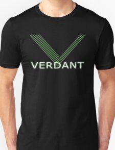 Verdant Night Club Logo - Neon Lines Unisex T-Shirt