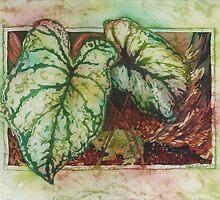 Caladiums 1 by Deborah Younglao
