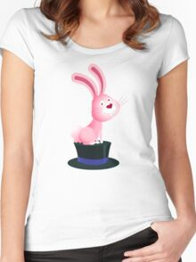 Magic bunny Women's Fitted Scoop T-Shirt